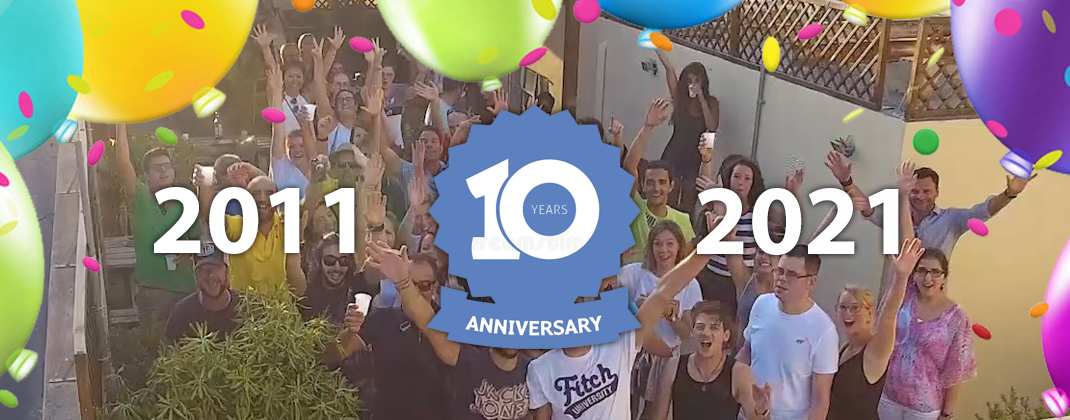 10 Year Anniversary - Celebrate With Us