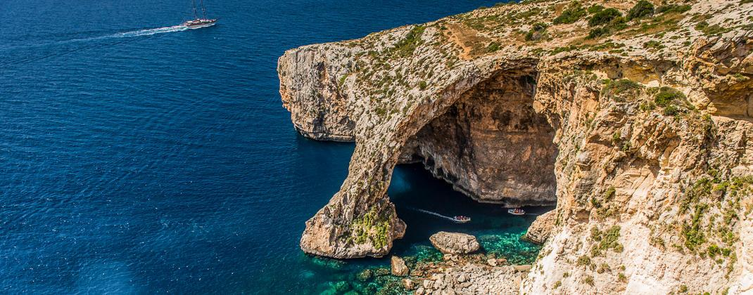 Blue Grotto boottocht