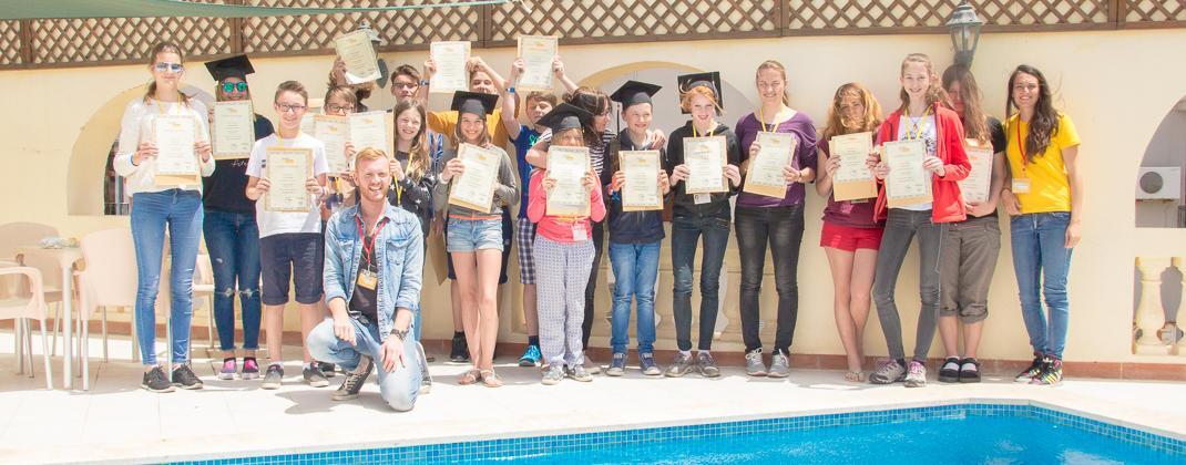 Course Graduation Photo