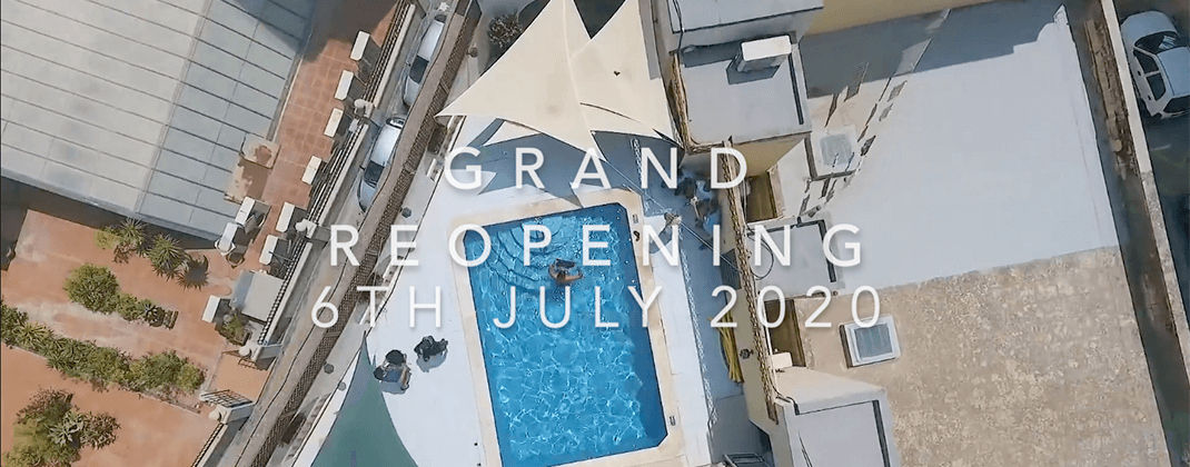 Grand Reopening - 6th July 2020
