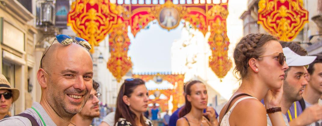 Festival in Valletta