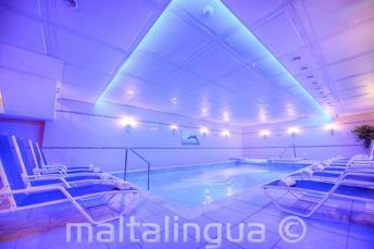 Spa with pool in the Alexandra Hotel, St Julians