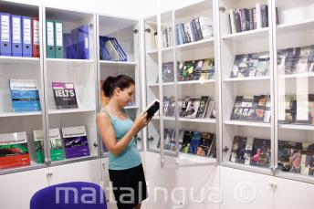 Free school book and DVD lending library