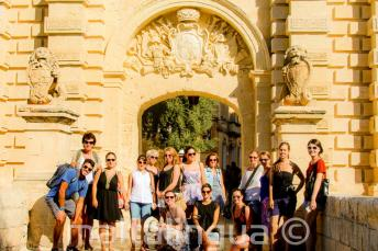 English language guided tour of Mdina