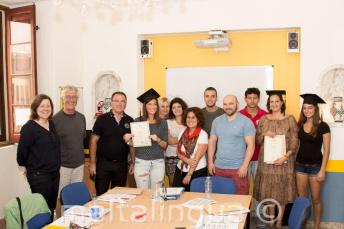 Student who have successfully completed an English course with us.