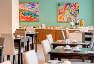 Restaurant in the Argento Hotel