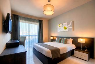 Hotel argent guest room, Malta