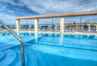 Hotel Alexandra rooftop pool, Malta