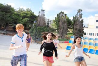English language school sports activities in Malta