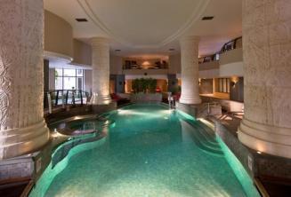 Indoor swimming pool and spa at a hotel in St Julians, Malta