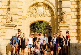 English language guided tour of Mdina