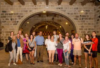 English language guided winery tour with tasting