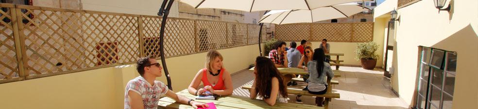 School terrace