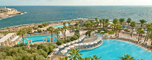 Hilton Hotel St Julians Bay Malta